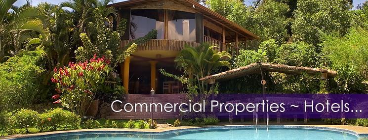 Puntarenas Commercial Properties / Hotels for Sale