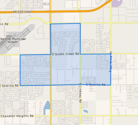 Haley_Elementary_School_Homes_for_Sale Boundary Map