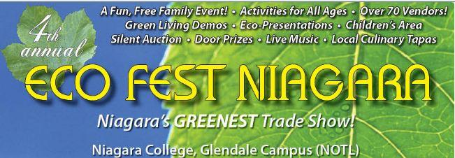 Eco Fest Niagara - Sally Dollar Speaks about Greening your Home