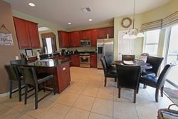 Three dining areas (including outdoor dining), a fully equipped kitchen incorporates a breakfast bar, nook area and all the usual modern appliances with almost everything that you could need to rustle up a quick snack, or prepare a family feast.