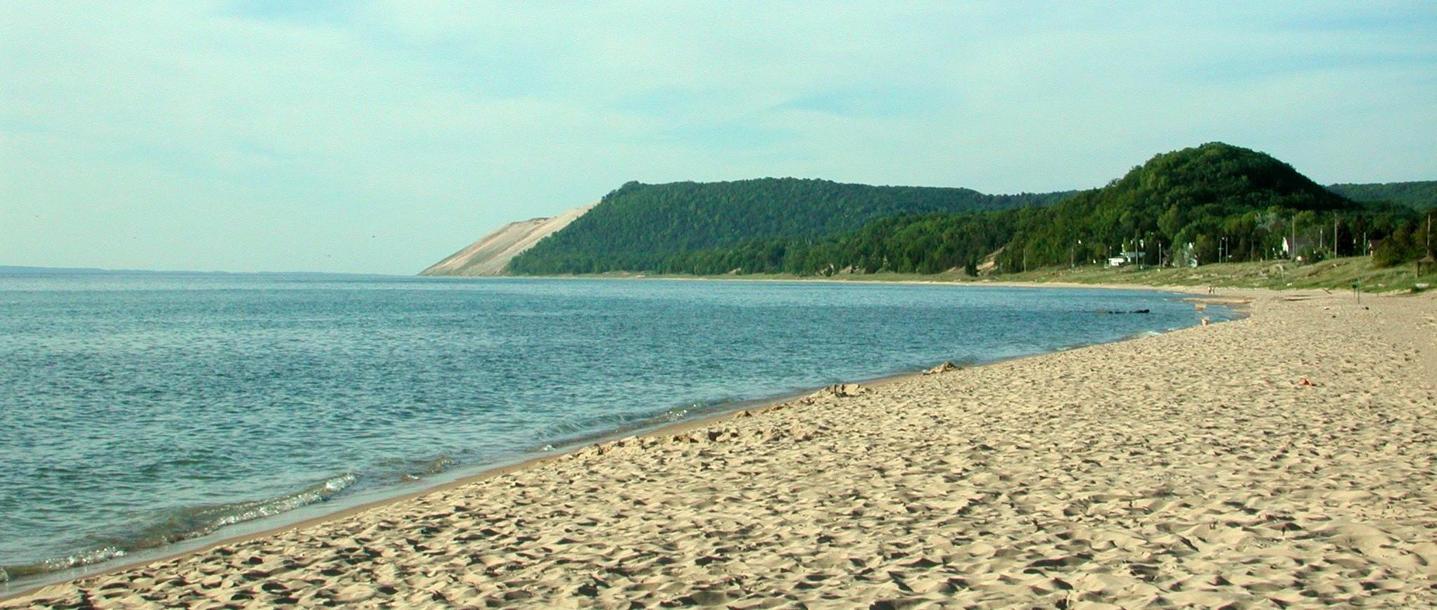 Lake Michigan Waterfront in Leelanau County