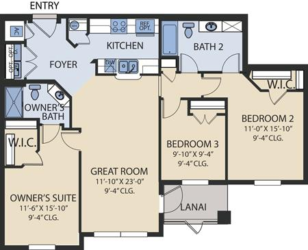 Santa Cruz Floorplan