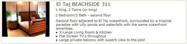 El Taj Beachside 311