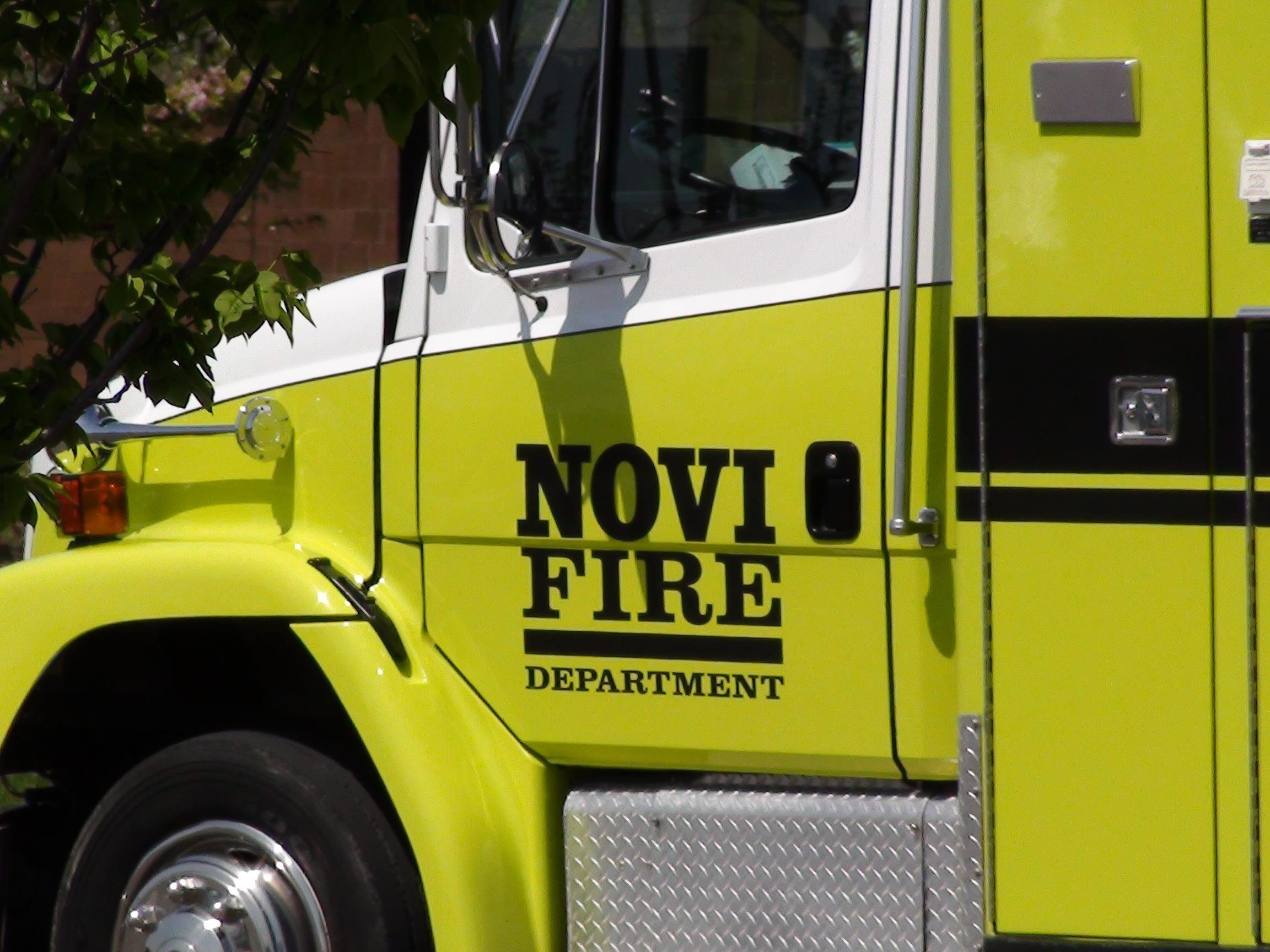 Novi Michigan Fire Truck