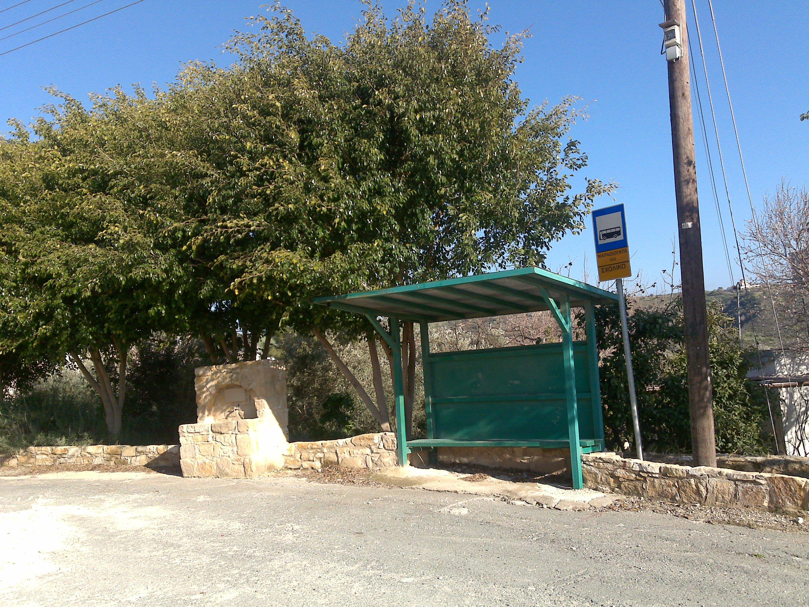 Cypriot Village Bus Stop