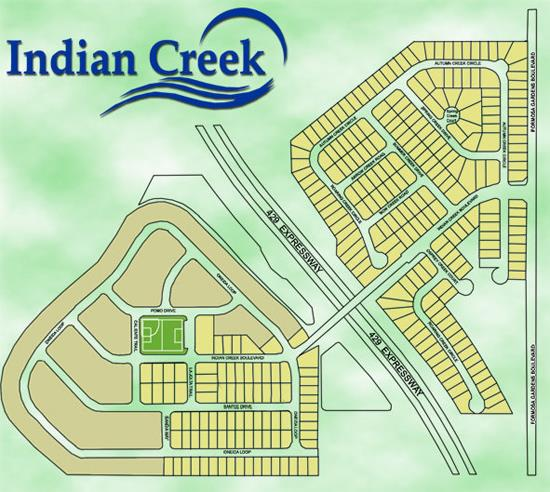Indian Creek, Kissimmee, near Disney World