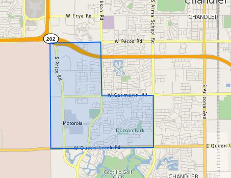 Tarwater_Elementary_School_Homes_for_Sale Boundary Map