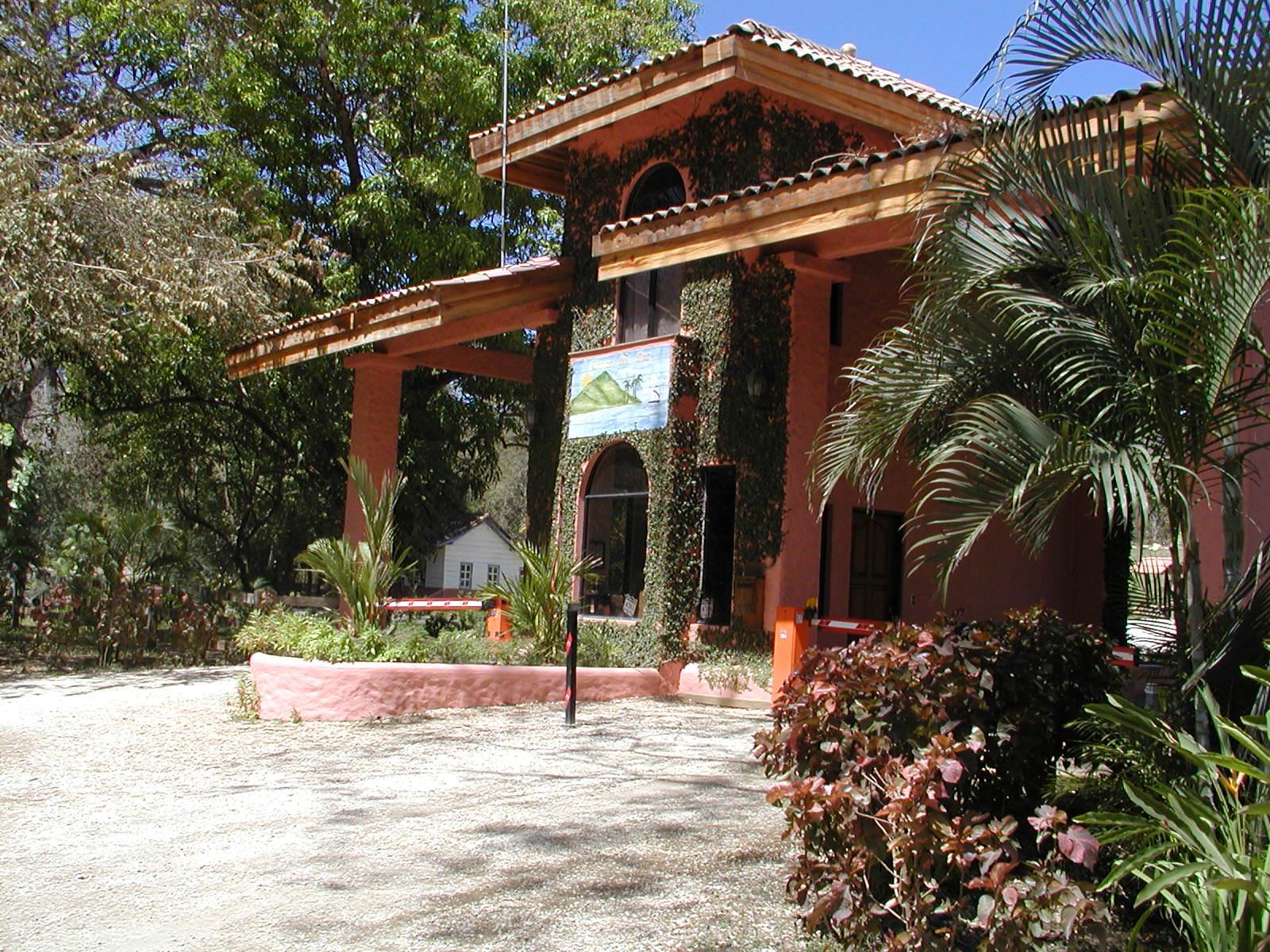 Entrance to Lomas del Mar Eco-Development, Costa Rica