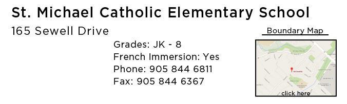 st michaels catholic school oakville