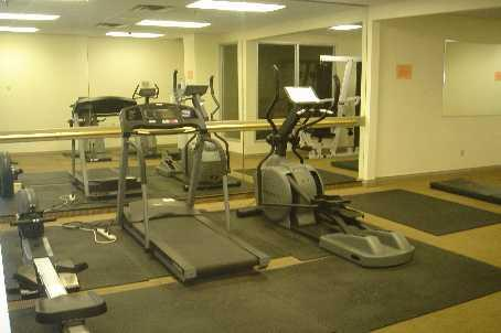 Enfield Place condominium exercise room