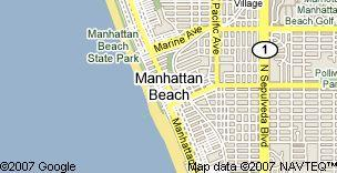 Manhattan Beach Map