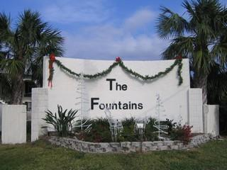 Fountains Naples Fl sign
