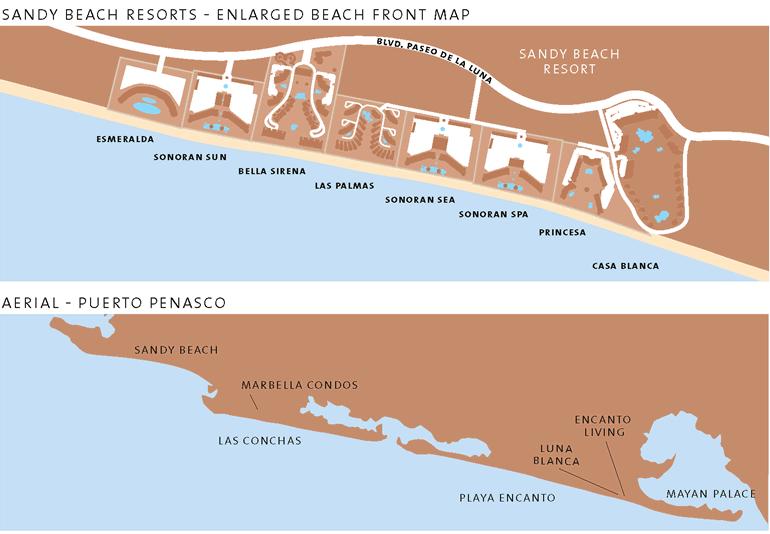 Resorts Of Sandy Beach