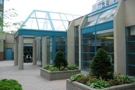 Enfield Place condominium lobby