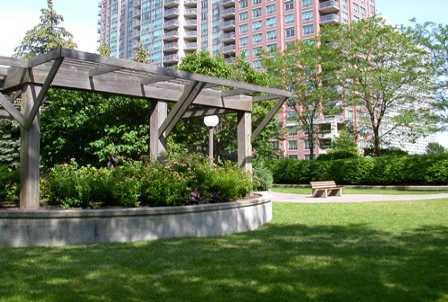 Enfield Place condominium patio