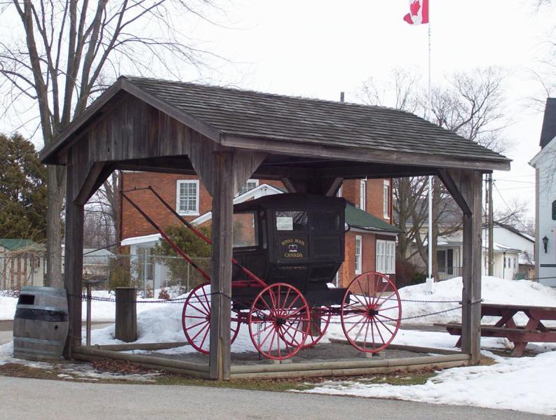 Museum Mail Carriage Display