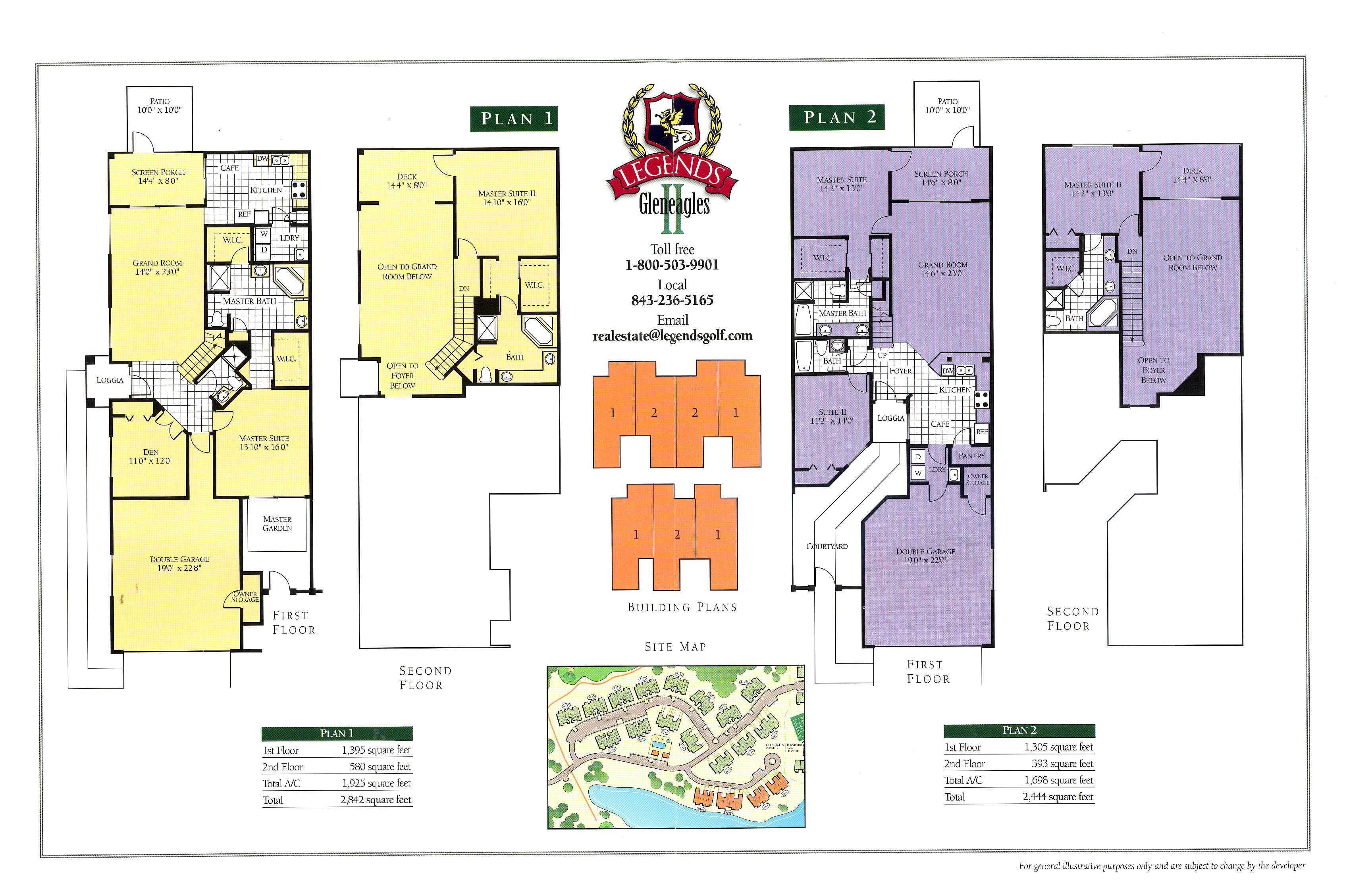 GE II floor plan