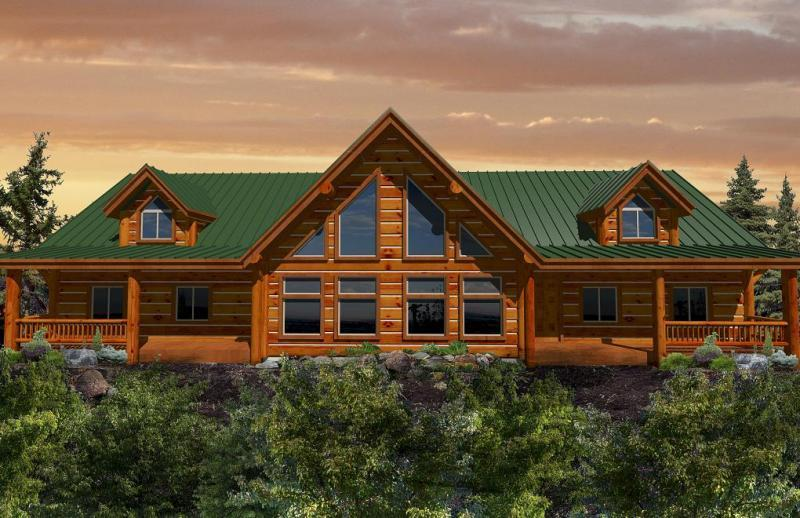 California Log Homes Log Home Floorplans Ca Log Home