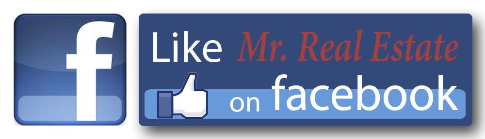 Like Mr. Real Estate on Facebook