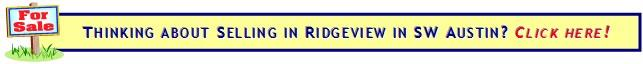 Selling your home in Ridgeview?