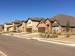 A view of the Hills of Bear Creek subdivision in SW Austin.