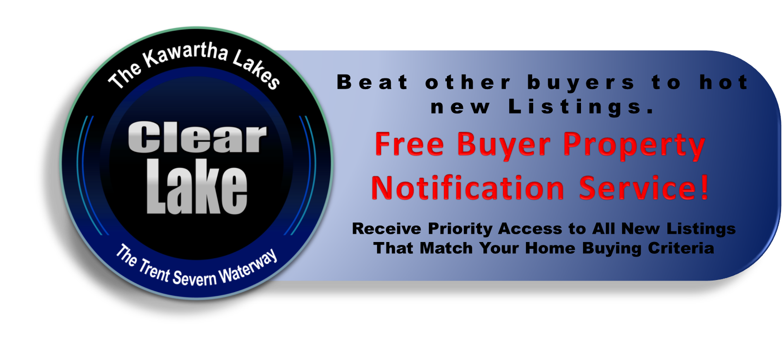 Clear Lake Real Estate Buyers VIP Listing Notification Service