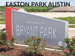 Easton Park Sign