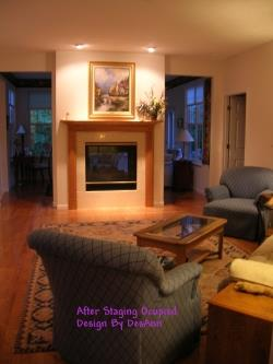 Real Estate Home Staging - After Pic