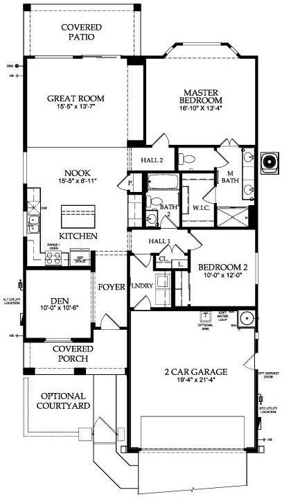 Sun City Festival Valor Floor Plan Model Home Del Webb
