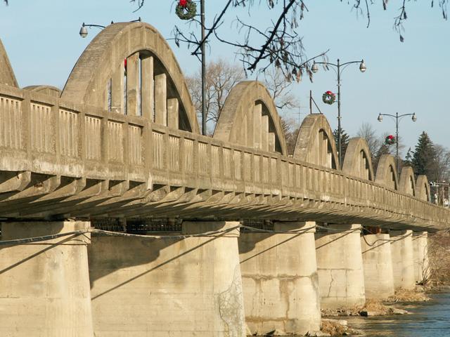 Caledonia Ontario Heritage Bridge