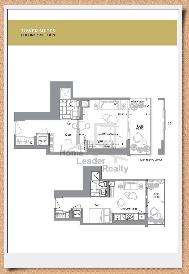 Yc condo floor plans meze blog for 18 yonge street floor plan