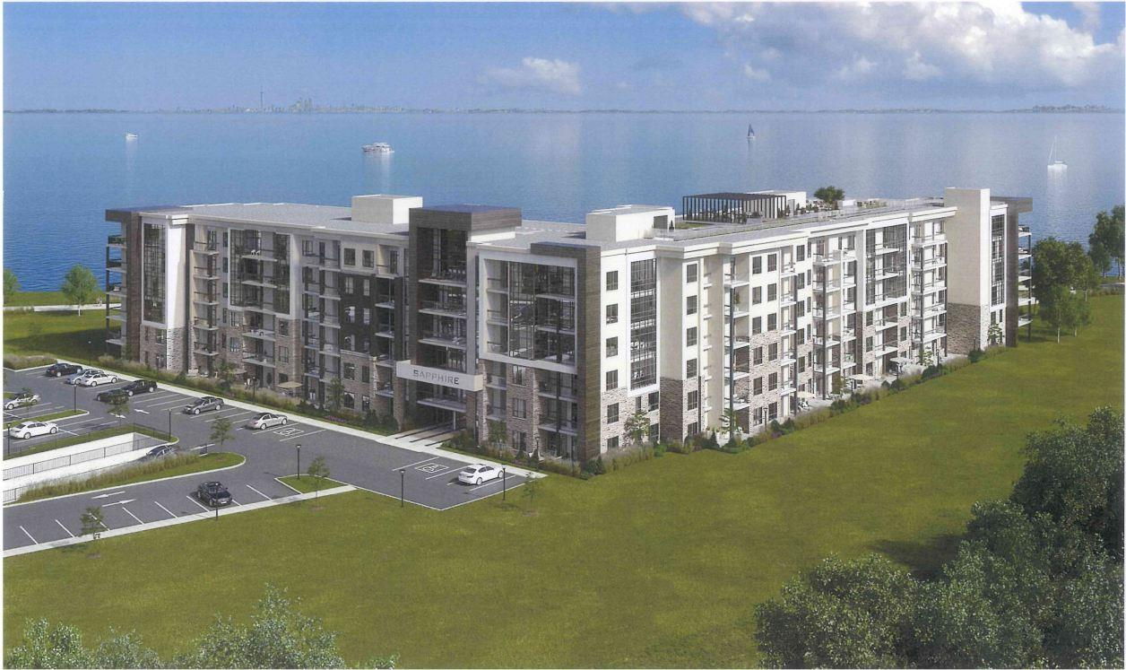 sapphire condos waterfront living in stoney creek building photo