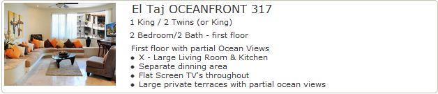 El Taj Oceanfront 317