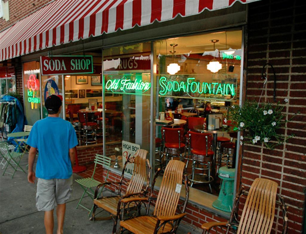 Brevard  NC Soda Shop