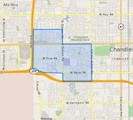 Conley_Elementary_School_Homes_for_Sale Boundary Map