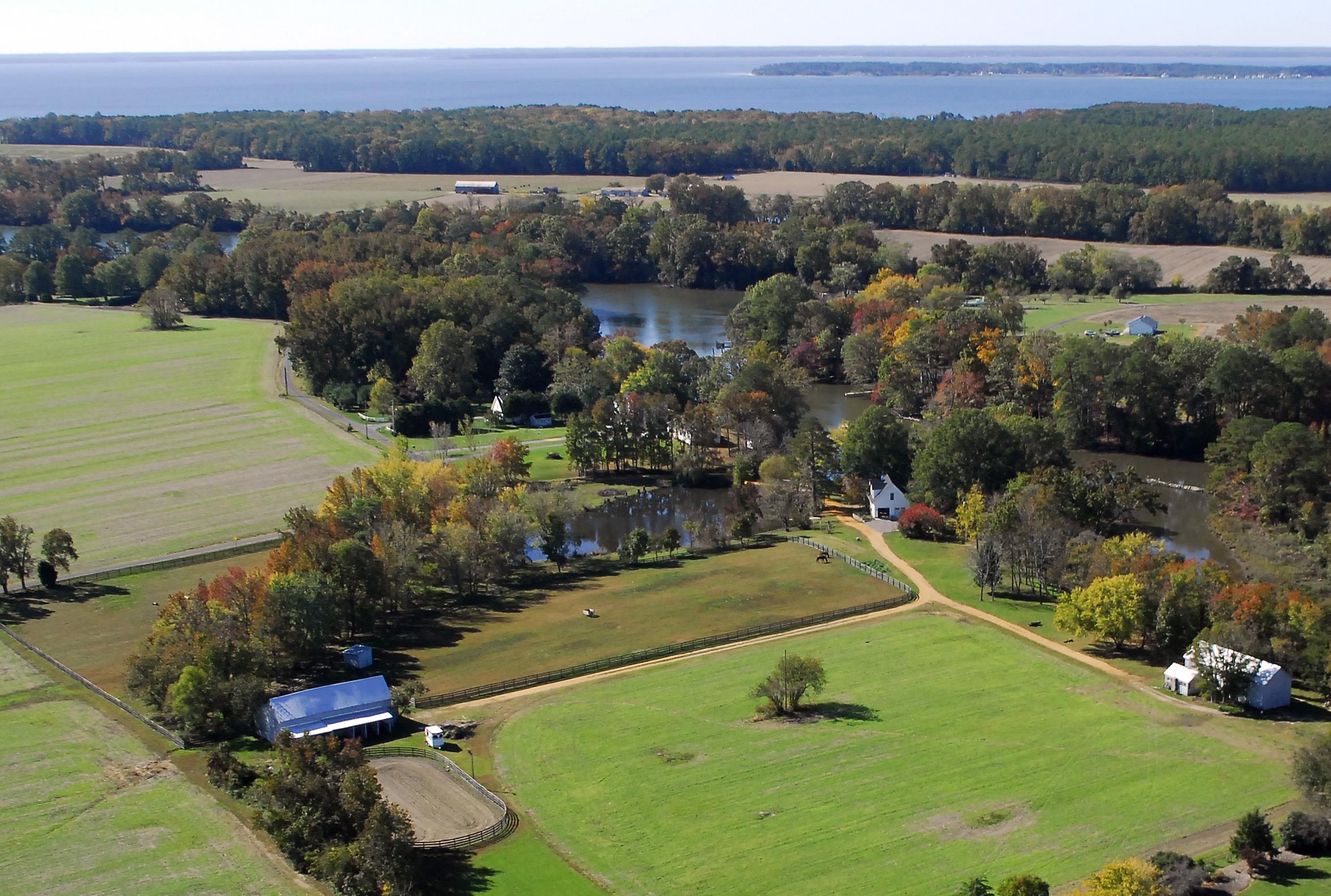Fabulous horse farm property in Saint inigoes, in Saint Mary's County MD!  This is a waterfront farm featuring a custom built Cape Cod style home!  This is a 20 acre parcel of cleared, flat land, with a horse barn, tobacco barn with stripping shed, pier and more!  Call Marie Lally at 301-748-8698 for additional information about this Southern Maryland Horse Property for Sale.