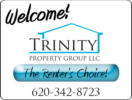 Welcome to Trinity Property Group, The Renter's Choice. 620-342-8723