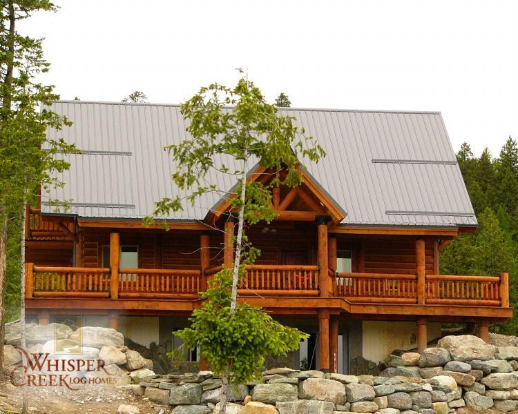 California log home dealers, help you select log home kits your