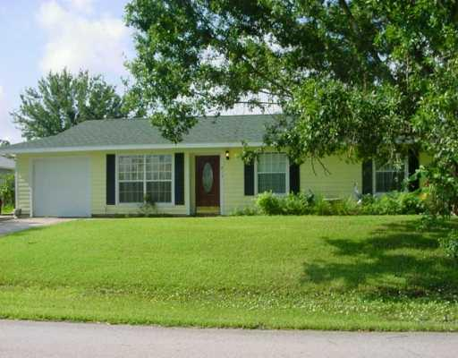 Sebastian home with great curb appeal
