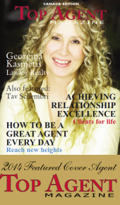 Georgina Kasmetis - 2014 Featured Cover Agent - Top Agent Magazine