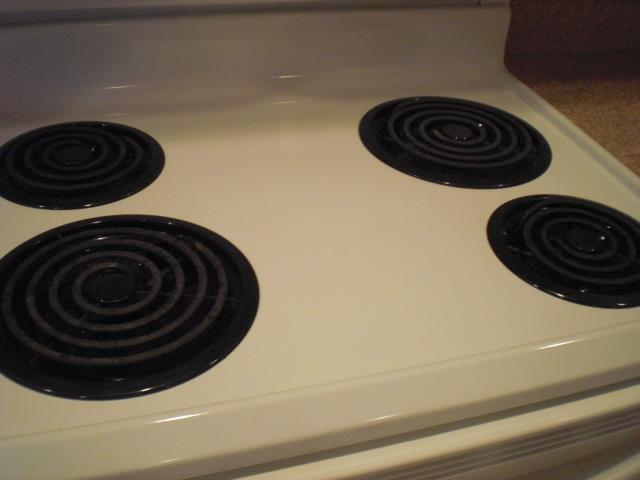 Stove Top with Oven