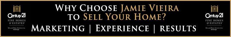 Jamie Vieira Oakville real estate agent serving Oakville, Burlington, Milton, and surrounding areas