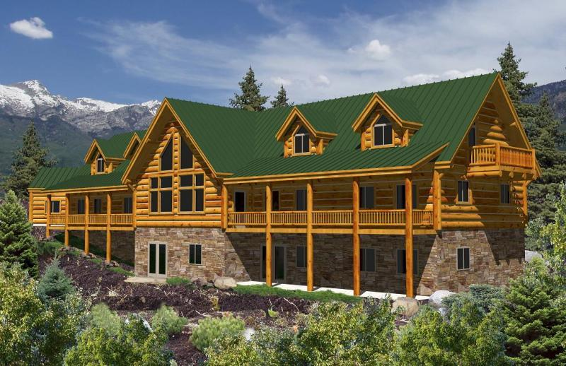 California Log Homes Home Floorplans Ca Plans Floor