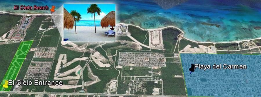 El Cielo Location Playa del Carmen