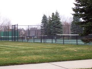 Rolling Meadows Lake Orion Michigan subdivision tennis courts