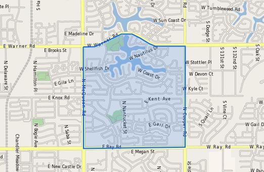 Shumway_Elementary_School_Homes_for_Sale Boundary Map
