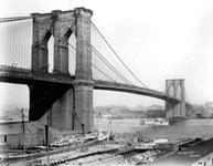 Old Time Brooklyn Bridge