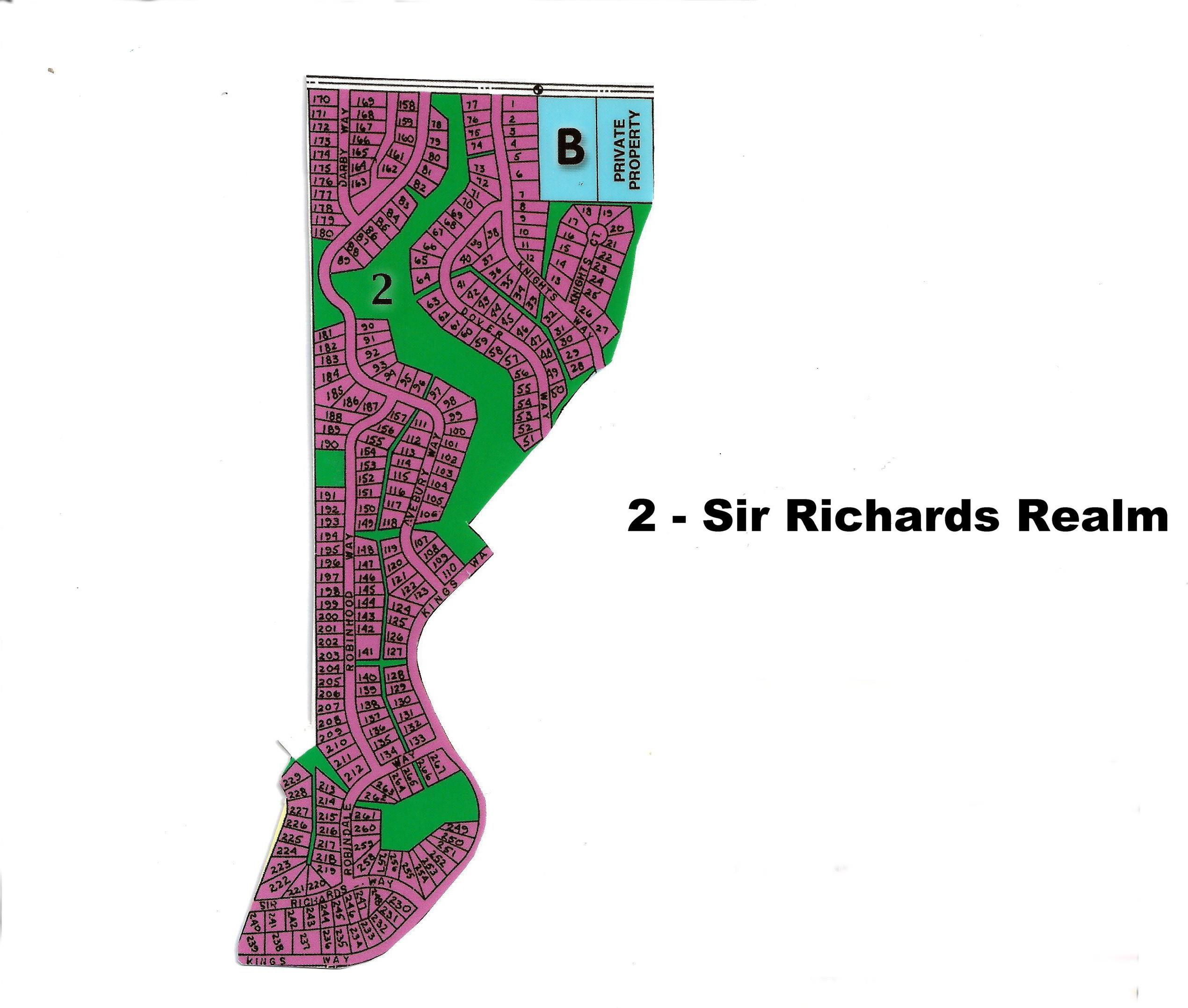 1   - SIR RICHARDS REALM (SR)