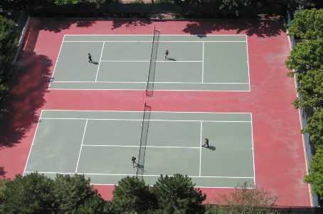 The Mansion condominiums 45 Kingsbridge Garden Cirlce and  55 Kingsbridge Garden Cirlce two tennis courts