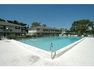 Poinciana Naples Fl condo community pool